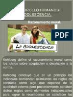 DESARROLLO HUMANO = ADOLESCENCIA
