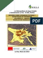 Modelacion Hidraulica Redes de La Paz El Alto