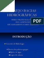 Aula 1_MANEJO BACIAS HIDROGR+üFICAS_Hidrologia