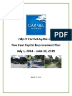 Five Year Capital Improvement Plan 2014-2019