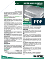 IIG Mineral Wool Spec Sheet