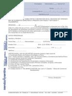 SOLICITUD DE  INSCRIPCIÓN EN EL REGISTRO DE PROFESIONALES EN