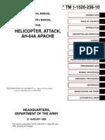 TM 1-1520-238-10 Technical Manual AH-64A Apache