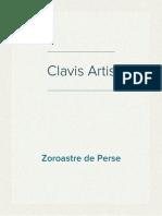 Zoroastre de Perse - Clavis Artis