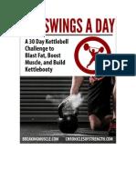 Breaking Muscle 300swings a Day eBook