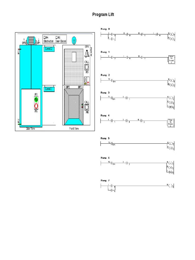 Diagram ladder lift just wire jawaban ladsim lift rh scribd com ladder diagram for lift control system ladder diagram for lift ccuart Images