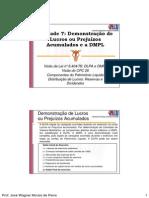 Apresentação Contabilidade Societária e Demonstrações Financeiras - Unidades 7 8 9 e 10