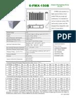 F.5 Descripcion Tecnica Bateria SHOTO 6-FMX-150B
