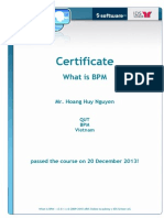 What is BPM - ARIS Certification
