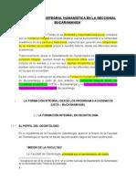 Formación Integral - Usta Bucaramanga