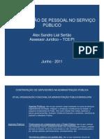 Contratacao de Servidores Na Administracao Pu1blica