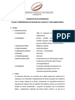 TALLER DE COMPRENSIÓN DE REQUISITOS LEGALES Y REGLAMENTARIOS_6-06-2013