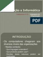 Conferência nº 05 - Linguagens de Programação