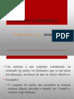 Conferência nº 10 - Sistemas