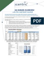 Process Analysis Accelerator