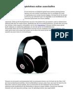 Een dr dre beats  koptelefoon online aanschaffen