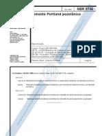 NBR-5736 - 1991 - Cimento Portland Pozolânico