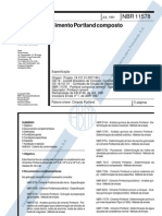 NBR 11578 - Cimento Portland Composto
