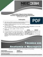 CONC TEC ADM FEV 2014 - MED_Técnico em Anatomia e Necropsia