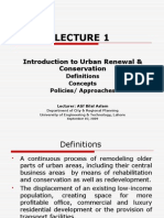 Lect 1_Urban Renewal & Conservation