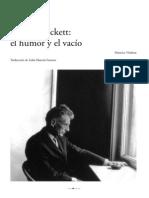 Beckett, el Humor y el Vacío