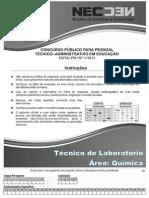 CONC TEC ADM FEV 2014 - MED_Técnico em Química