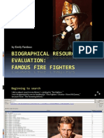 biographical resource evaluation