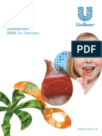 Unilever Sustainable Development Overview2008 v3 Tcm103-163522