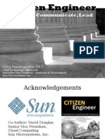 Citizen Engineer - Engage, Communicate, Lead
