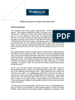 Wedgewood Partners Fourth Quarter 2013 Client Letter