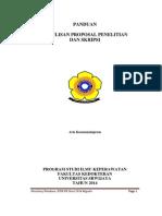 PANDUAN skripsi 2014 revisi