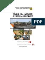 Manual Para Revision Costos y Pptos