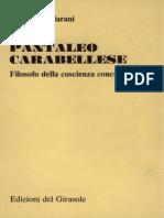 Pagliarani - Carabellese filosofo della coscienza concreta