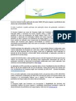 divulgação aplicação TOEFL UFRJ