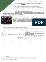 Practica 5.SÍNTESIS DE ARENOS POR MEDIO DE LA ALQUILACIÓN DE FRIEDEL