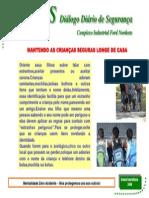 DDS MANTENHA CRIANÇAS SEGURAS FORA DE CASA304