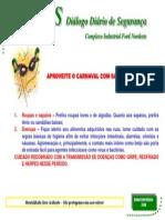 DDS CUIDADOS COM A SAÚDE CARNAVAL 201