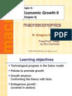 Chap.08. Economic Growth 2. GM