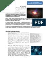 El Universo - 1ero Sec