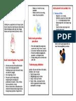 brosur persalinan