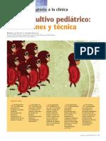 El hemocultivo pediátrico