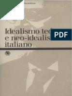 Incardona (a cura  di) - Idealismo Neoidealismo
