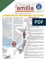 EL AMIGO DE LA FAMILIA domingo 16 marzo 2014