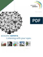 Acoustic camera Brochure2009