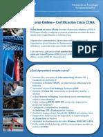 Brochure Capacity Curso Ccna Online