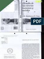 Mardones_Ursua_Filosofía de las Ciencias humanas y Sociales