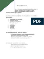 Sistemas de información resumen