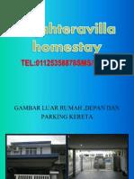 Homestay Sejahtera Villa Kingfisher