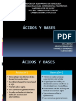 Diapositivas Acidos y Bases