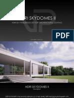 VP HDRI Skydomes II Catalog